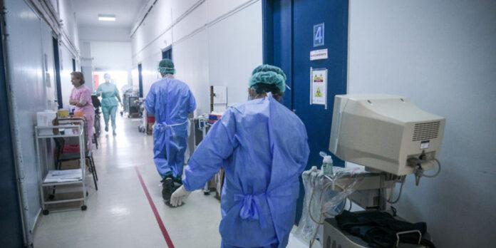 Γιατροί σε νοσοκομείο αναφοράς /Φωτογραφία: Eurokinissi