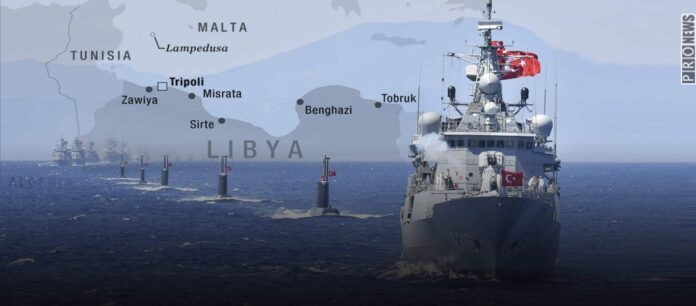 Mε τρεις NAVTEΧ η Τουρκία ξεκινά την «πολιορκία» της Λιβύης - Από Μάλτα μέχρι Αίγυπτο απλώνεται ο τουρκικός Στόλος