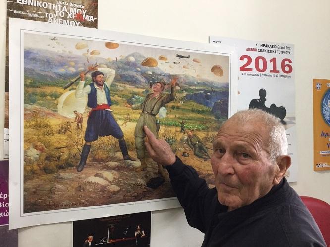 Έφυγε από τη ζωή, σε ηλικία 103 ετών ο Κρητικος ήρωας Γιώργος Παλαιάκης